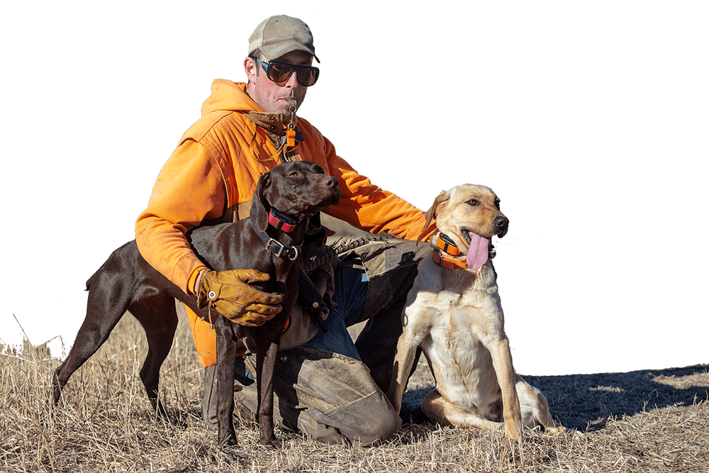 Aaron Schroder Gun Dog Trainer in Nebraska | Double A Outfitting & Gun Dogs