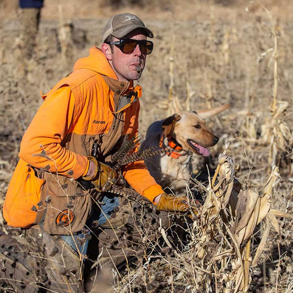 Aron Schroder gun dog trainer | Double A Outfitting & Gun Dogs